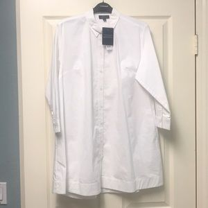 TOPSHOP Maternity 3/4 Sleeve Button Down